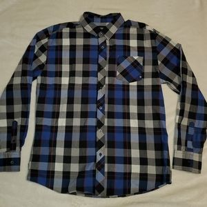Men XL Zoo York Button Down Shirt EUC